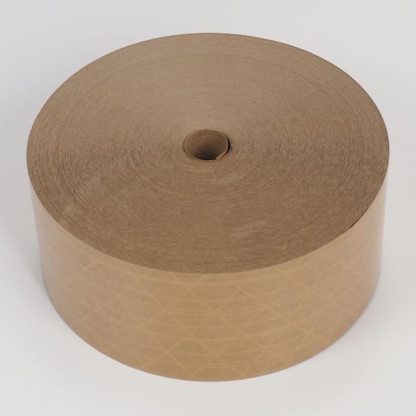 Nassklebestreifen Optimal M/braun 80mm x 150m