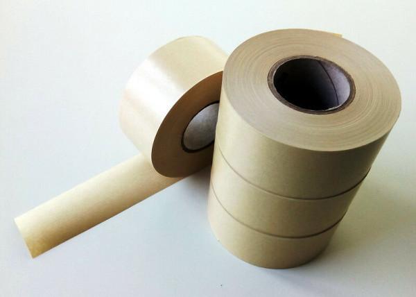Nassklebeband braun aus gerippten Kraftpapier 60mm x 100m